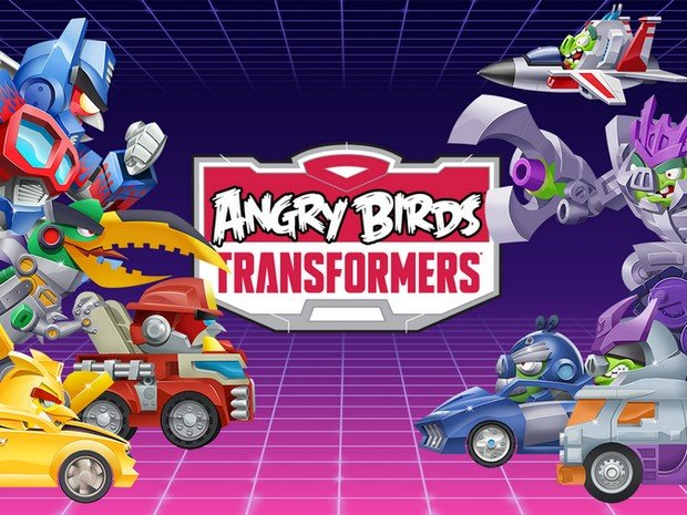 Angry Birds Transformers - App für Android und iOS
