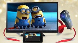 Chromecast: Im Play Store kaufen, 15 Euro Play Movies-Gutschein kostenlos dazu [Deal]