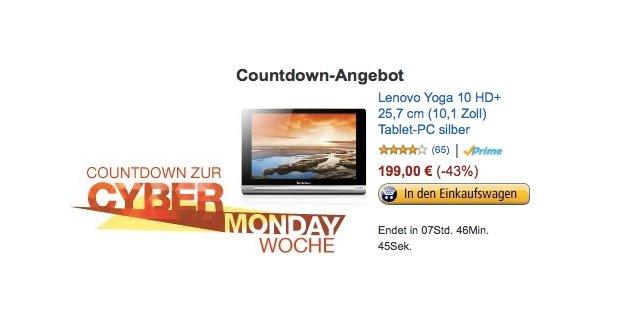 Cyber Monday Countdown: Verbraucherzentrale rügt aufgeblasene Rabatte
