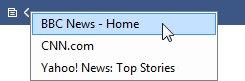 Desktop Ticker