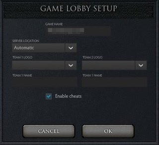 dota 2 cheats enabled