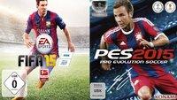 FIFA 15 vs. PES 2015: Faces im Grafik-Vergleich (Ribéry, Ronaldo, Messi und Co.)