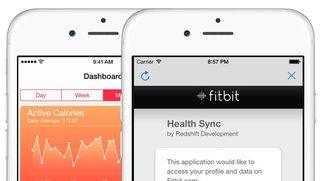 Fitbit und Health in iOS 8: Neue App zur Synchronisierung
