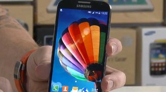 Samsung Galaxy S4 mit Android 5.0 Lollipop im Video