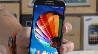 Samsung Galaxy S4 mit Android 5.0 Lollipop im Video