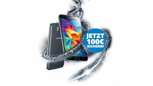 100 Euro Cashback beim Kauf eines Samsung Galaxy S5