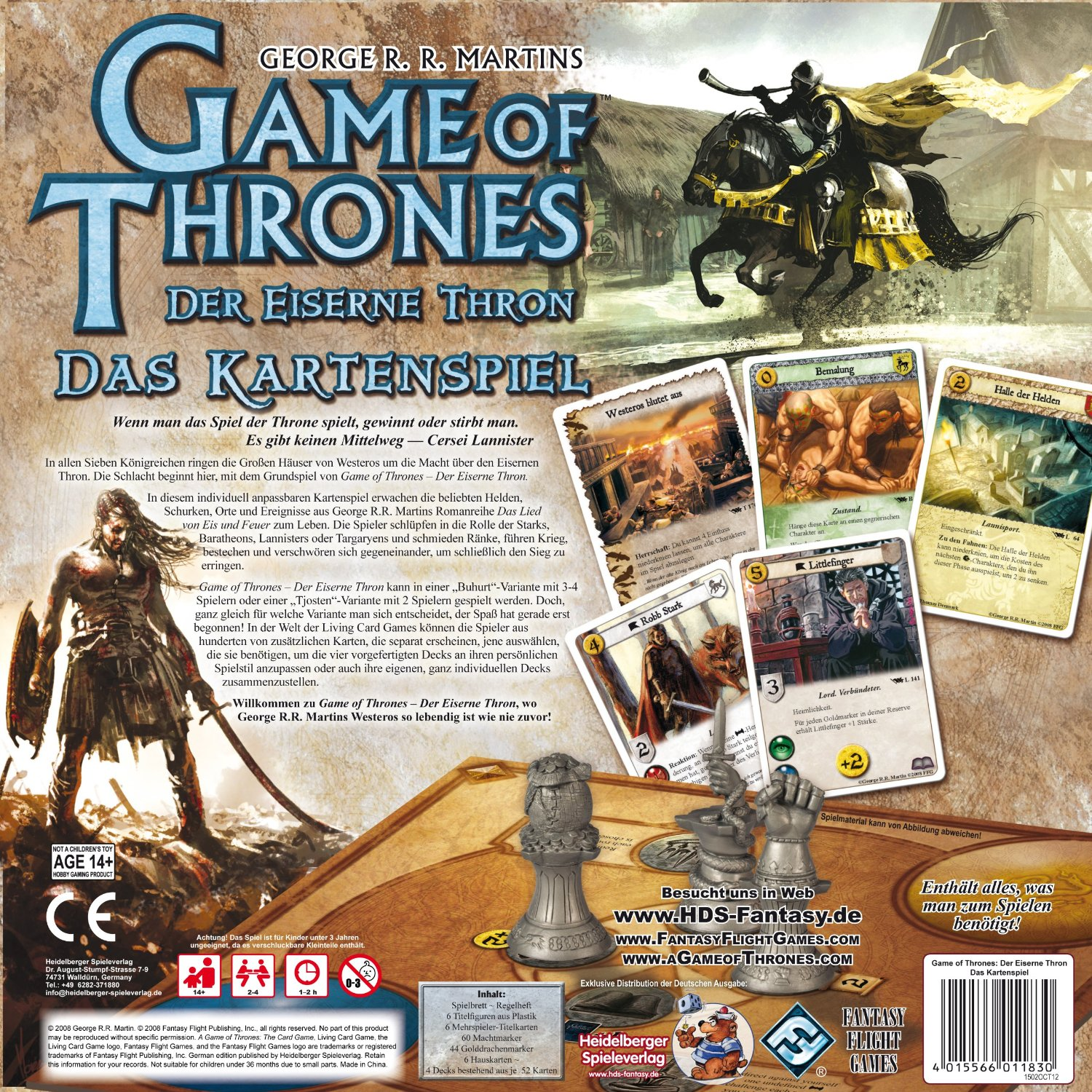 Game Of Thrones Spiel