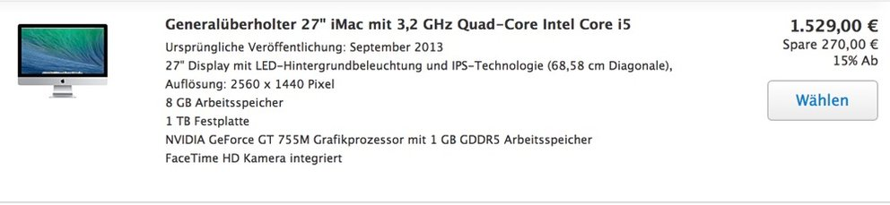 Kürzlich im Apple Store entdeckt – schon wieder ausverkauft.