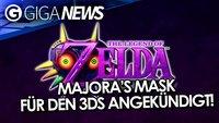 Majora's Mask 3D, GTA 5 in 4K und Framezählerei - GIGA News