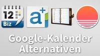 Google-Kalender: die besten Alternativen im Überblick