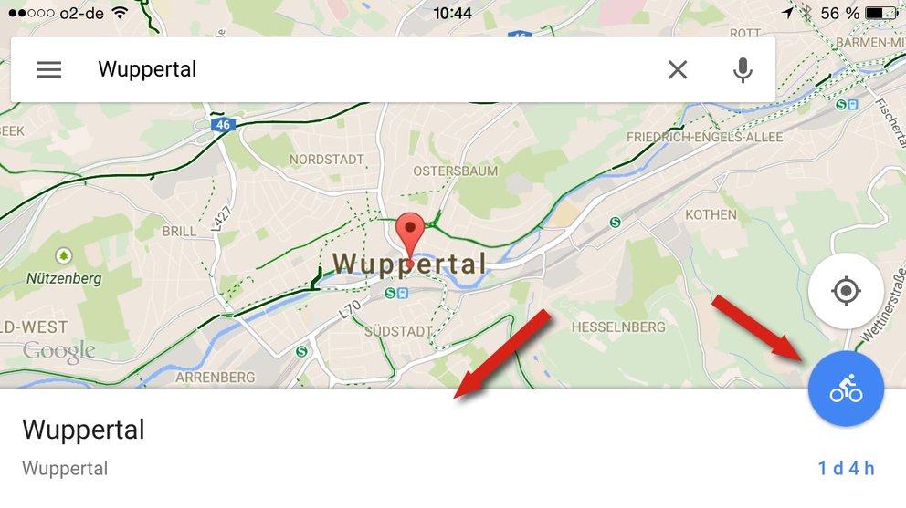 google-maps-navigation-starten-app