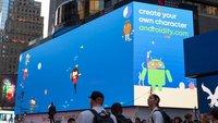 Google: Riesige interaktive Reklametafel am Times Square bewirbt Android