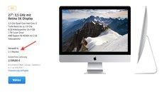 iMac mit 5K Retina: Apple verlängert Lieferzeit