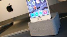 iPhone-Ständer: Betonklotz für das iPhone 6