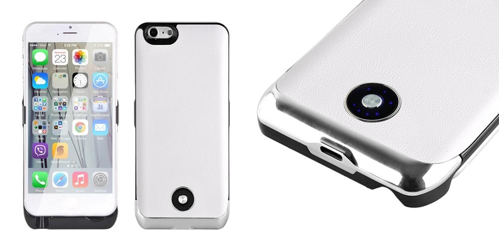 iphone 6 hülle mit akku weiß