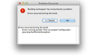 java.lang.NullPointerException – was tun, bei der Java-Fehlermeldung?