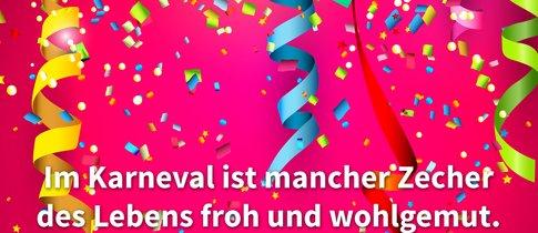 Karneval & Fasching: Die besten Sprüche für den Umzug, WhatsApp