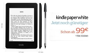 Kindle Paperwhite: Erneute Preissenkung durch Amazon