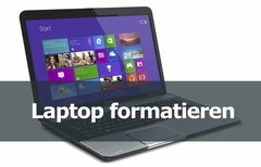 Laptop formatieren – so...