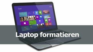 Laptop formatieren: Ohne CD neu aufsetzen oder zurücksetzen