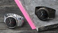 Moto 360: Neue Gehäuse-Farbe und Armband-Varianten vorgestellt