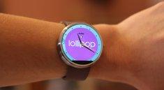 Moto 360: Update auf Android 5.0.1 Lollipop ab heute auf allen Geräten, auch für G Watch R unterwegs [Update]