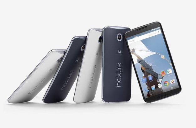 Googles Nexus 6: Fingerprint-Scanner war geplant