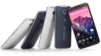 Nexus 6: Google-Phablet wird in den USA vereinzelt mit Android 4.4 KitKat ausgeliefert