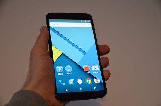Nexus 6: Android 5.1 Lollipop bringt bessere Performance und Akkulaufzeit