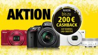 Nikon-Aktion auf Kameras und Objektive: Bis zu 200 Euro Rückzahlung direkt vom Hersteller