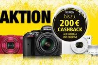 Nikon-Aktion auf Kameras und Objektive:<b> Bis zu 200 Euro Rückzahlung direkt vom Hersteller</b></b>