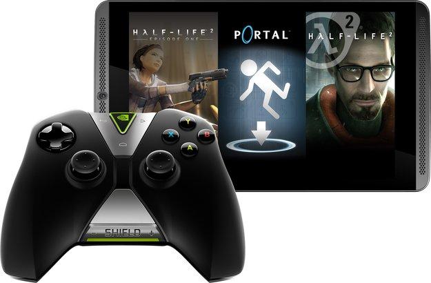 NVIDIA Shield Tablet: LTE-Version mit 32 GB im Bundle mit Controller &amp&#x3B; Game-Paket am Freitag für 379,99 Euro [Black Friday]