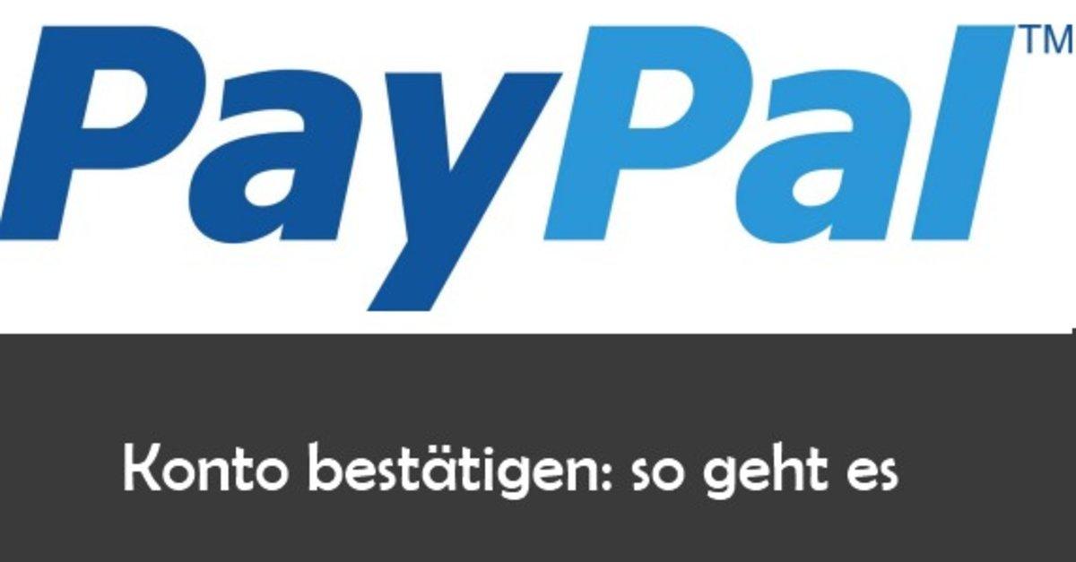 Paypal Konto Ohne Bankkonto Erstellen