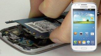 Samsung Galaxy S4 mini: USB-Ladebuchse, Mikro wechseln