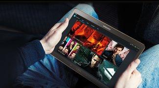 Samsung Galaxy Tab S 8.4 &amp&#x3B; 10.5: Gratis Jahrespaket von Maxdome bei Kauf bis Januar [Deal]