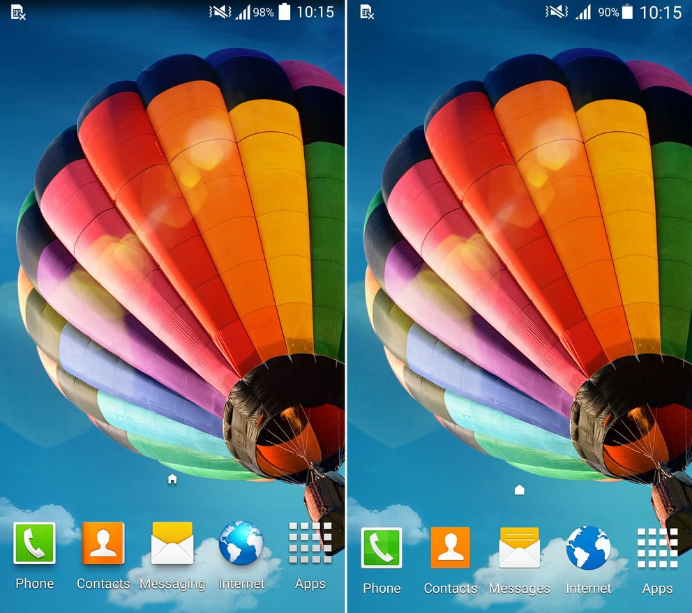 samsung-galaxy-s4-android-5-lollipop-vergleich-4.4-kitkat-touchwiz-homescreen