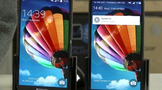 Samsung Galaxy S4: Android 5.0 Lollipop und Android 4.4 KitKat im Video-Vergleich