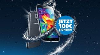 Samsung Galaxy S5: Effektiv für 299 Euro zu haben dank 100 Euro Cashback im Samsung Winterdeal [Deal]