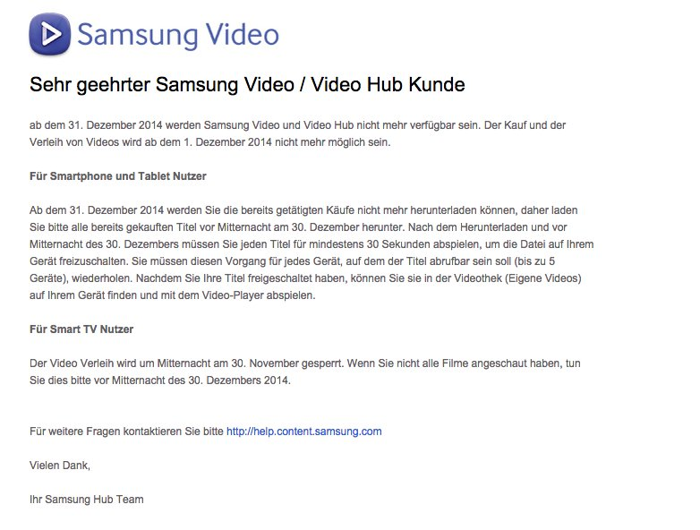 samsung-video-hub-eingestellt-email