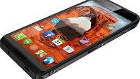 Saygus V²: Wasserdichtes Dual-Boot-Smartphone mit Fingerabdruck-Scanner, Qi-Charging, Kamera-Button & zwei microSD-Slots