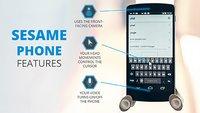 Sesame: Berührungsfreies Smartphone für Menschen mit Behinderung als Crowdfunding-Projekt