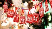 Adventskalender selber basteln, gestalten und befüllen für Freundin, Freund und Co.