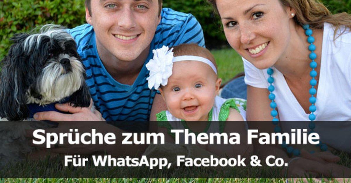 spr che zum thema familie f r whatsapp facebook co giga. Black Bedroom Furniture Sets. Home Design Ideas