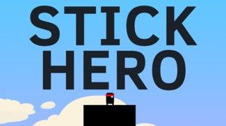 Stick Hero - Flappy Bird auf Hochhäusern
