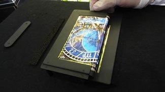 Super-AMOLED-Display lässt sich dreifach falten (Von Tablet zu Smartphone-Größe)