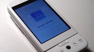 Google Kalender auf dem G1: So läuft die Material Design-App auf dem ersten Android-Gerät [Video]