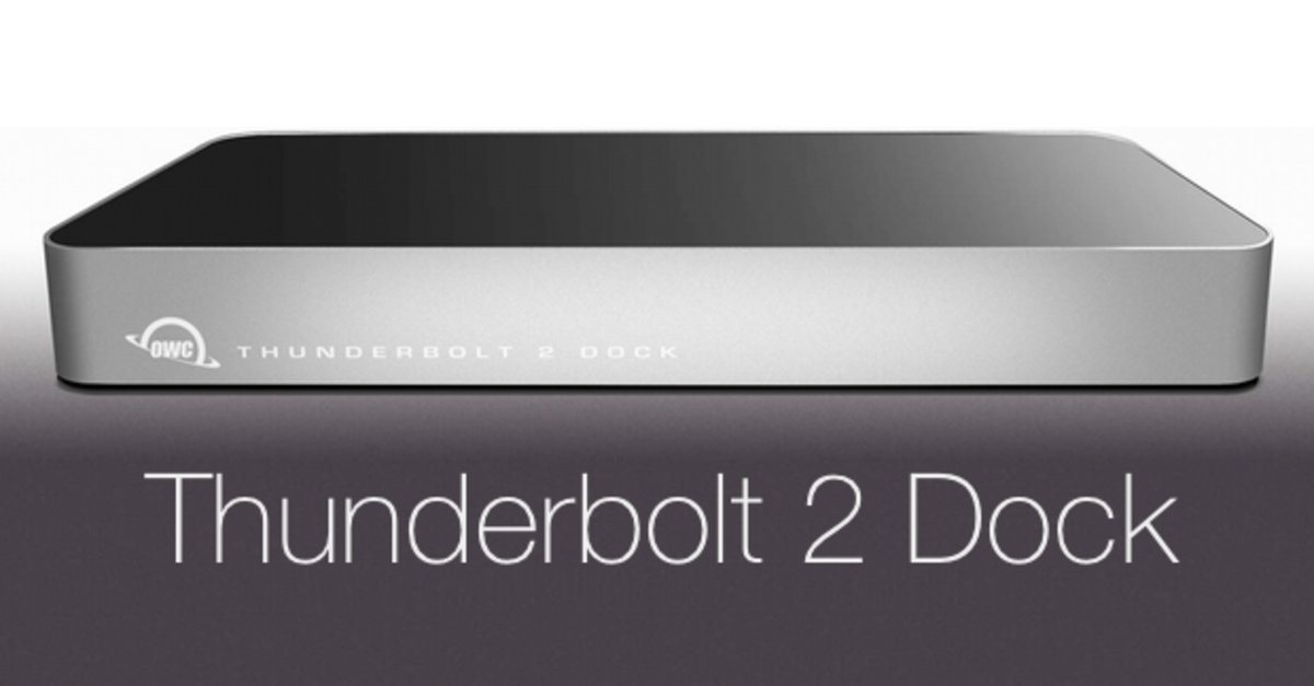 owc thunderbolt 2 dock neuzugang mit 12 anschl ssen. Black Bedroom Furniture Sets. Home Design Ideas