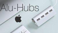 USB-Hubs im Apple-Design aus Aluminium (Übersicht)
