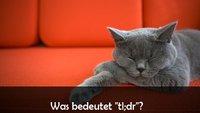 """""""tldr"""": Was bedeutet die Abkürzung?"""