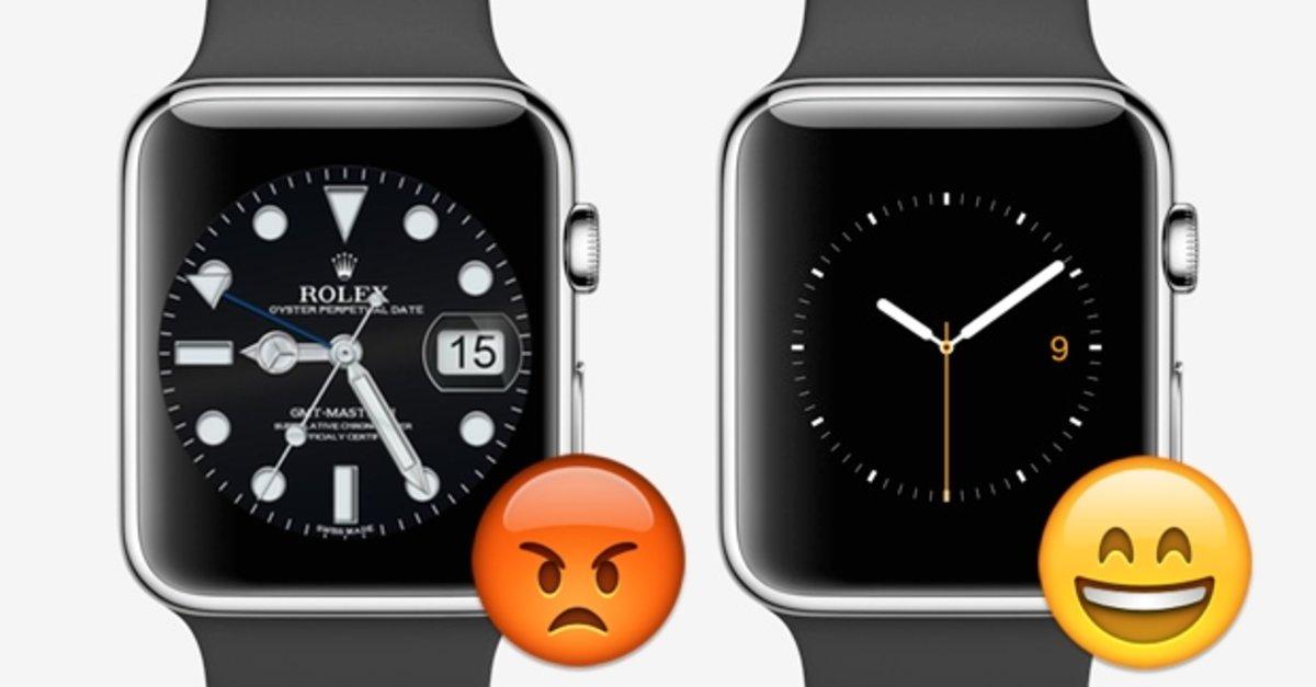 Zifferblätter Apple Watch